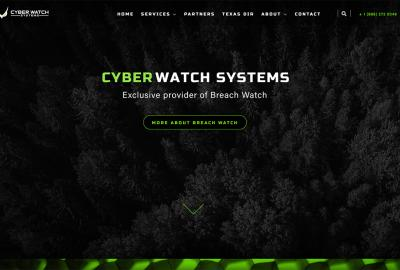 Cyber Watch Systems Home Pge