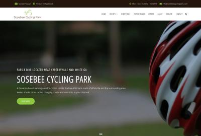 Sosebee Cycling Park home page